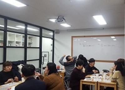写真2 日韓交流会の様子(筆者撮影)
