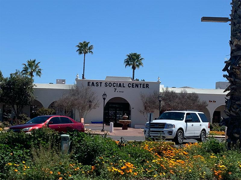 写真2:13箇所あるGVRのコミュニティ・センターの一つ